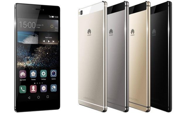 P8 va P8 Lite: Bo doi smartphone sieu mong cua Huawei hinh anh
