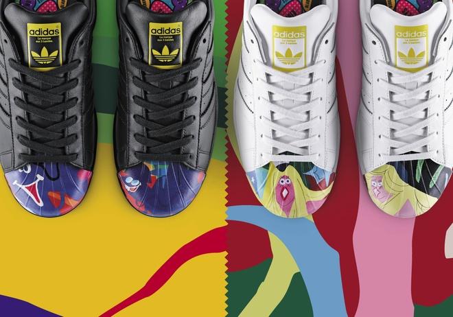 Superstar: adidas Originals ket hop voi Pharrell Williams hinh anh