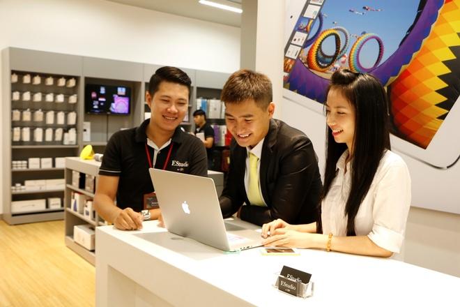F.Studio by FPT tang bao hanh 3,6 trieu dong khi mua Macbook hinh anh 2