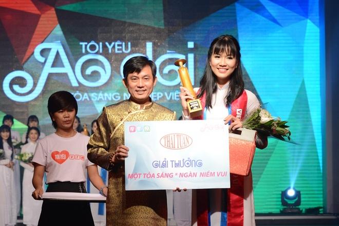 Nu sinh THPT chuyen Le Hong Phong duoc vinh danh Miss Ao dai hinh anh 9