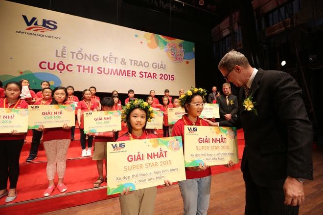 Cuoc thi 'VUS Summer Star' trao gan 200 giai cho hoc vien hinh anh