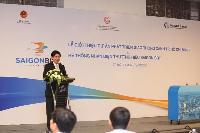 TP HCM ra mat tuyen xe buyt nhanh Saigon BRT hinh anh 1