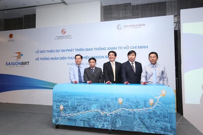 TP HCM ra mat tuyen xe buyt nhanh Saigon BRT hinh anh 2