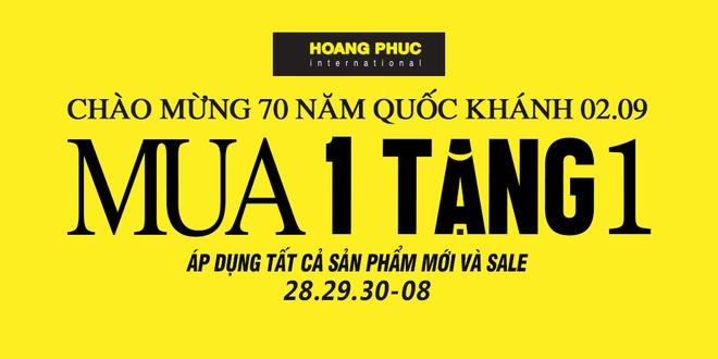 Mua sam thoi trang hang hieu tai Hoang Phuc dip le 2/9 hinh anh