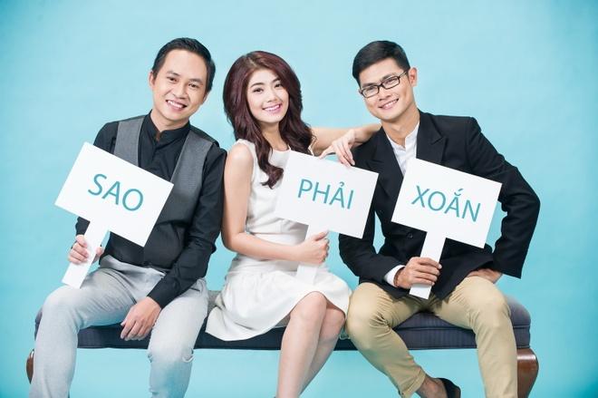 """5 chieu thuc ngan ngua mun cua Dam Phuong Linh hinh anh 5 Biệt đội """"Sao Phải Xoắn"""" của Đàm Phương Linh và hai hotboy."""