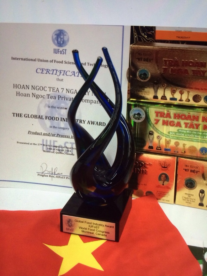 Thuong hieu Hoan Ngoc khong ngung no luc cai tien san pham hinh anh 1  Giải thưởng cao quý của doanh nghiệp 7 Nga Tây Ninh