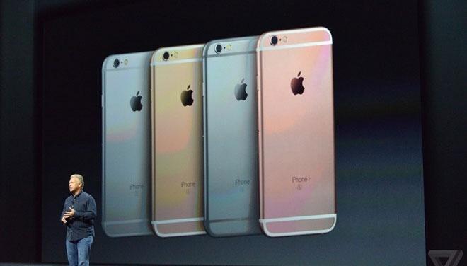 iPhone 6S va 6S Plus ra mat, them mau vang hong hinh anh