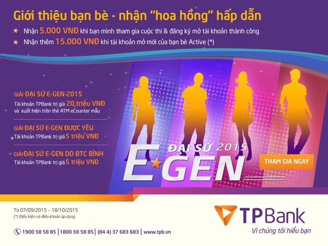 Ban tre hao hung voi cuoc thi 'Dai su E-GEN 2015' cua TPBank hinh anh