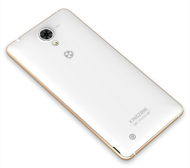 Kingzone N5: Smartphone gia re thiet ke thoi trang hinh anh 3