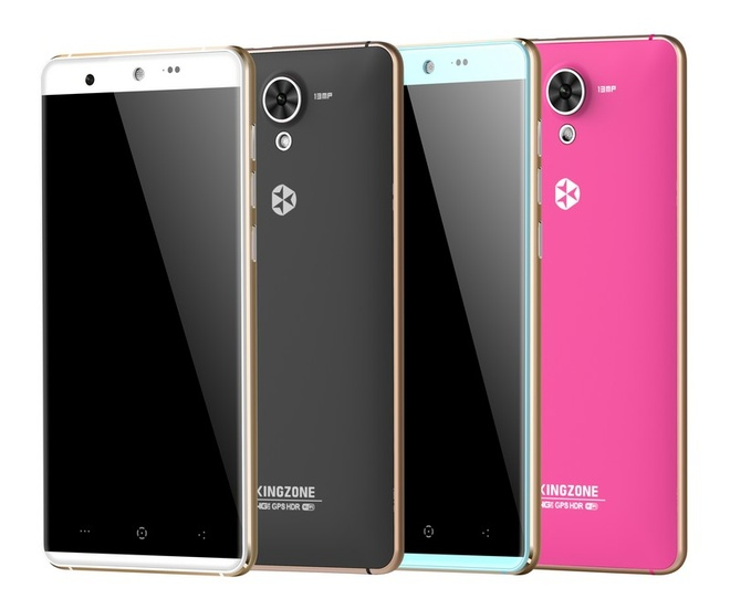 Kingzone N5: Smartphone thoi trang su dung chip am thanh moi hinh anh 4