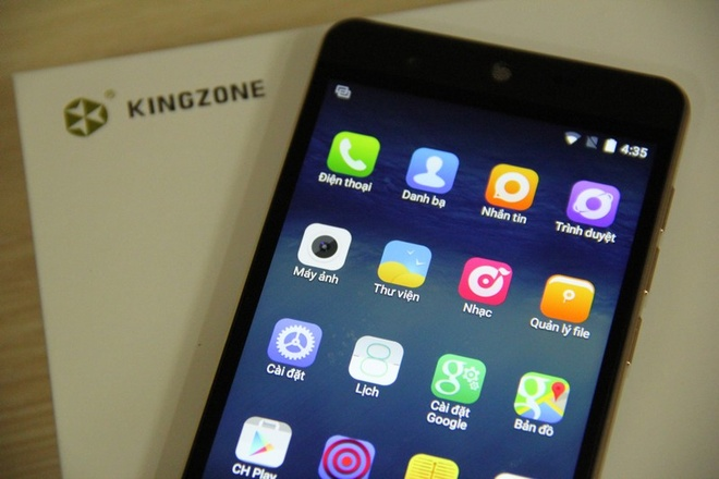 Kingzone N5: Smartphone RAM 2 GB tam gia 4 trieu dong hinh anh 1