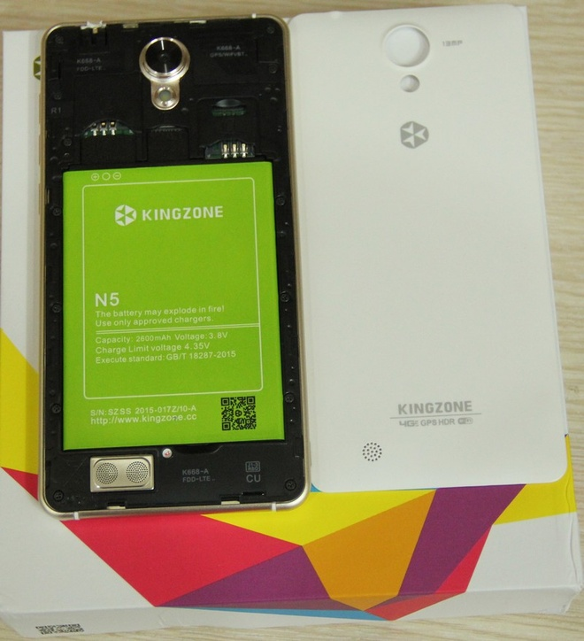Kingzone N5: Smartphone RAM 2 GB tam gia 4 trieu dong hinh anh 5