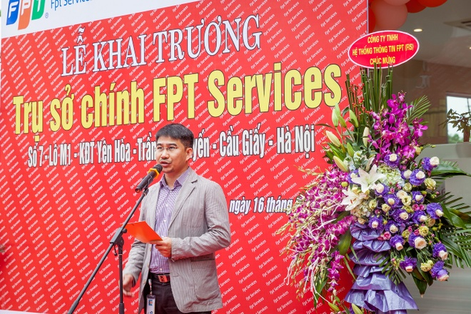 FPT IS Services khai truong tru so moi hinh anh 1