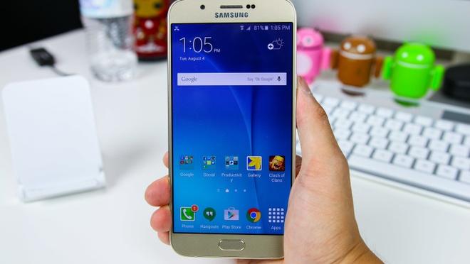 Tieu chi chon smartphone cua nguoi dung tre hinh anh 3 Bên cạnh viên pin dung lượng 3.050 mAh, Galaxy A8 còn hỗ trợ chế độ siêu tiết kiệm pin (Ultra Power Saving), cho phép điện thoại hoạt động bền bỉ dù chỉ cần 10% năng lượng.