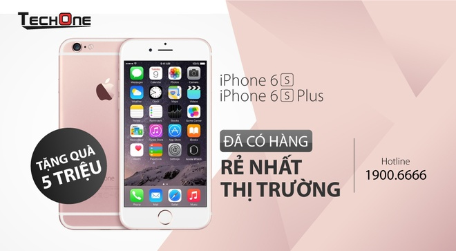 Thi truong Viet soi dong ngay dau co iPhone 6S hinh anh 4