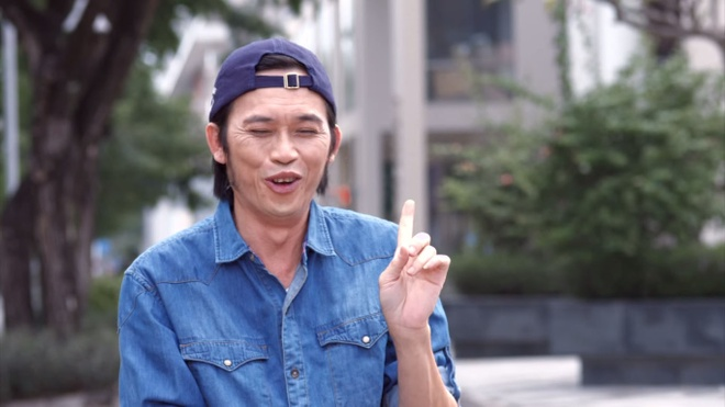 Hoai Linh vao vai xe om trong series hai moi hinh anh 5