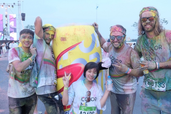 Cuộc thi thu hút cả các bạn trẻ quốc tế tham dự.