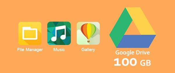 10 meo huu ich khi su dung giao dien ZenUI hinh anh 10 Lưu trữ 100 GB miễn phí trên Google Drive: Nếu sử dụng Zenfone 2, bạn có 100 GB dữ liệu miễn phí miễn phí trên Google Drive. Bằng cách lưu các tài liệu trên đám mây, bạn dễ dàng truy cập chúng trên mọi thiết bị của mình. Google Drive cũng liên kết với các ứng dụng như File Manager, Gallery và Music, tạo sự thuận tiện tối đa cho người dùng.