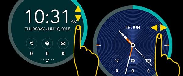 10 meo huu ich khi su dung giao dien ZenUI hinh anh 9 Chọn Cover View yêu thích: Người dùng có thể cá nhân hóa điện thoại bằng bằng cách thay đổi mặt đồng hồ Cover View theo sở thích. Có rất nhiều mẫu mã đồng hồ kĩ thuật số và đồng hồ cơ học khác nhau cho bạn lựa chọn. Tuy nhiên, tính năng chỉ được tích hợp trên phụ kiện Zenfone 2 Flip Cover.