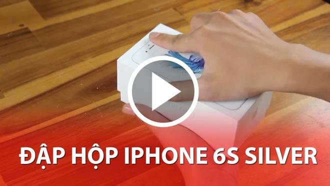 Nhung dieu can biet khi mua tra gop iPhone 6S/6S Plus hinh anh 5  Xem Video đập hộp iPhone 6S Silver tại đây.