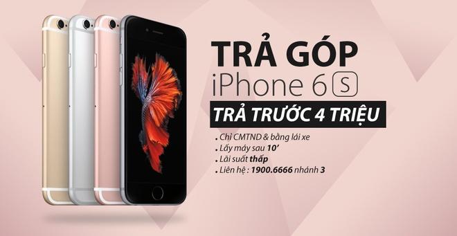 Nhung dieu can biet khi mua tra gop iPhone 6S/6S Plus hinh anh 3