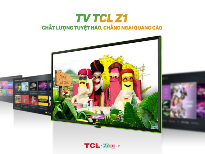 TCL Z1 - TV phi truyen thong dan dau phong cach song hinh anh