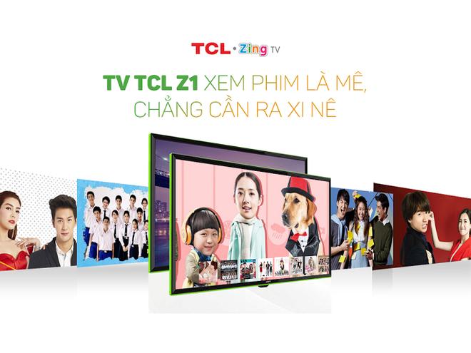 TCL Z1 - TV phi truyen thong dan dau phong cach song hinh anh 4