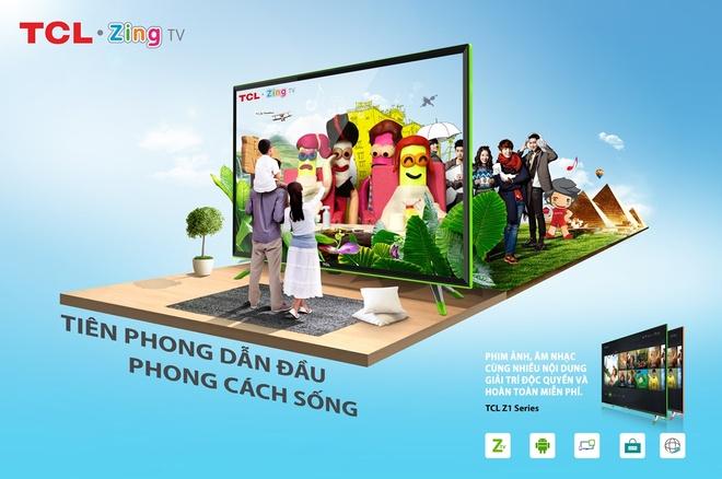 TCL Z1 - TV phi truyen thong dan dau phong cach song hinh anh 2