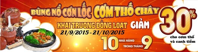 Thuong thuc com tho, nhan uu dai lon tai TP HCM hinh anh 2