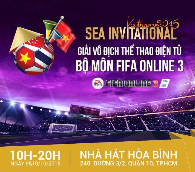 Game thu TP HCM hao hung voi giai 'SEA Invitational 2015' hinh anh 1
