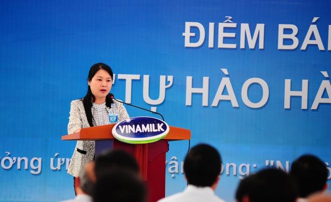 Vinamilk Nghe An mo cua hang 'Tu hao hang Viet Nam' hinh anh 1