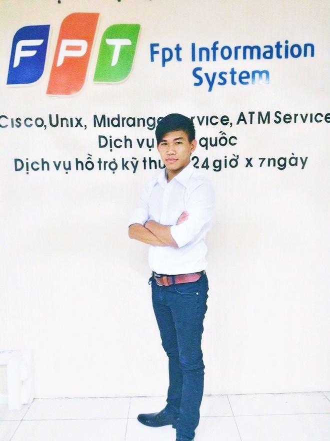 3 quan niem sai lam cua ban tre ve nghe IT hinh anh 2 Trương Quốc Phong, chàng trai thủ khoa ngành Quản Trị Hạ Tầng An Ninh Mạng hiện đang công tác tại FPT Information System