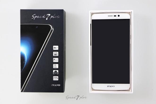 Zopo Speed 7 Plus: Smartphone RAM 3 GB tam gia 3 trieu dong hinh anh 1