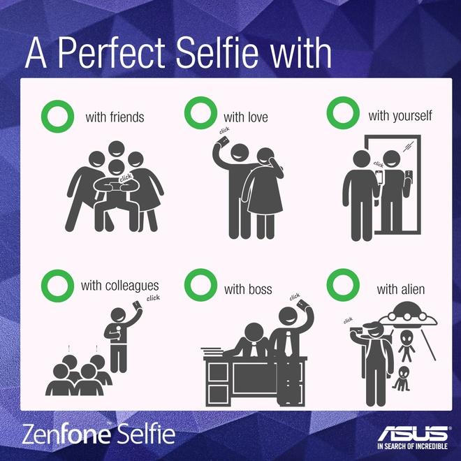 Asus huong dan selfie an toan trong quang cao moi hinh anh 2