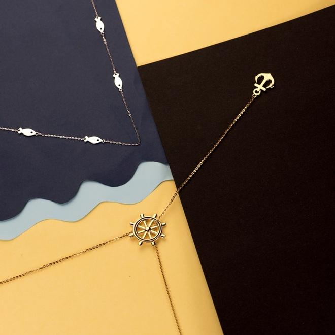 Giai ma suc hut cua trang suc bac hinh anh 4 Là tâm tình của các bạn trẻ đang yêu qua bộ trang sức Sailing.