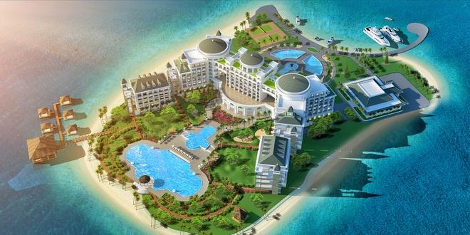 Thiet ke hien dai cua Vinpearl Ha Long Bay Resort hinh anh 1