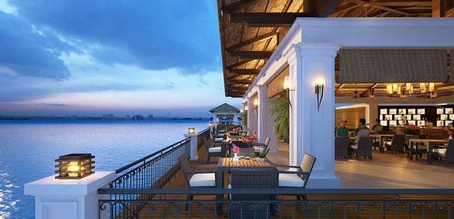 Thiet ke hien dai cua Vinpearl Ha Long Bay Resort hinh anh 10