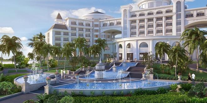 Thiet ke hien dai cua Vinpearl Ha Long Bay Resort hinh anh 2