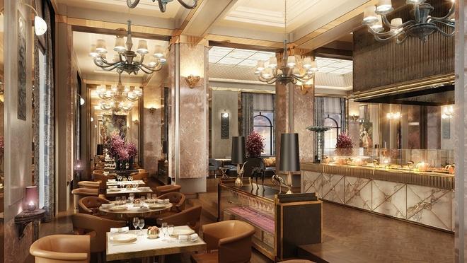 Vinpearl Ha Long Bay Resort gan bien cong trinh tieu bieu hinh anh 4 Nhà hàng sang trọng theo phong cách Châu Âu