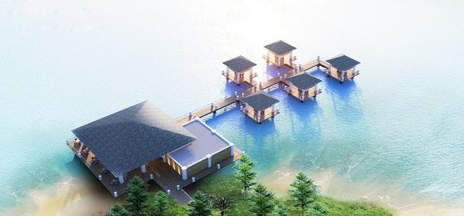 Vinpearl Ha Long Bay Resort gan bien cong trinh tieu bieu hinh anh 6 Phong cảnh thơ mộng giữa Vịnh Hạ Long