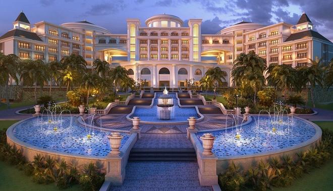 Vinpearl Ha Long Bay Resort gan bien cong trinh tieu bieu hinh anh 2 Khu nghỉ dưỡng sang trọng với kiến trúc Hoàng gia Châu Âu nổi bật trên đảo Rều