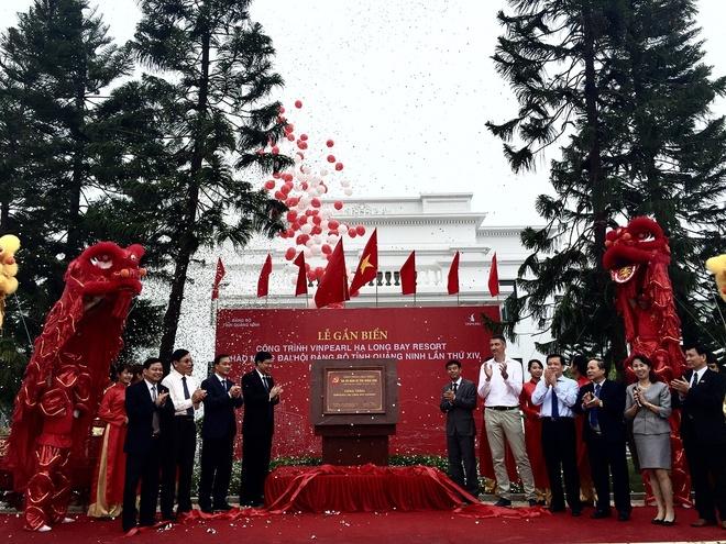 Vinpearl Ha Long Bay Resort gan bien cong trinh tieu bieu hinh anh 1 Vinpearl Hạ Long Bay Resort được gắn biển công trình tiêu biểu Quảng Ninh