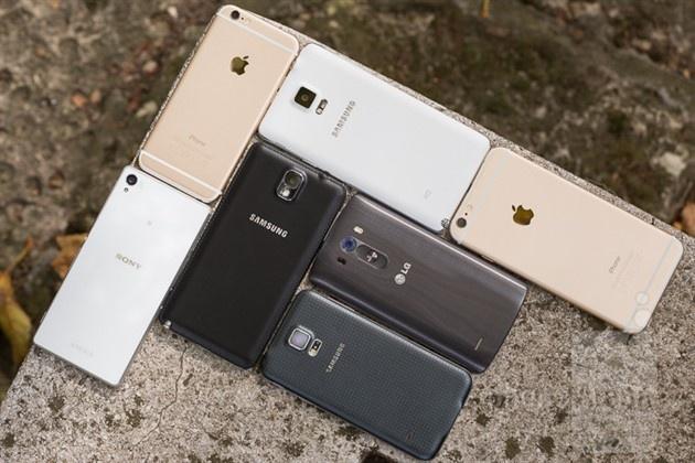 Top smartphone cau hinh manh ban chay thang 10 hinh anh