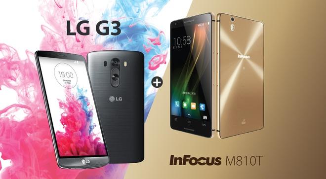 InFocus M810T, LG G3: Smartphone gia 3 trieu dong dang mua hinh anh 1