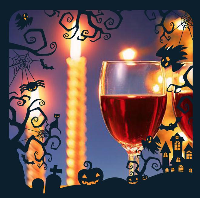 Ruou vang - thuc uong len ngoi mua Halloween hinh anh 1
