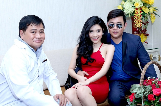 Quang Le dan ban gai tin don di phau thuat tham my hinh anh 2