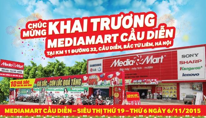 Media Mart khai truong sieu thi dien may thu 19 hinh anh