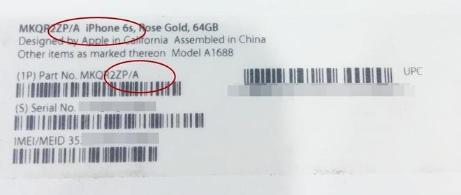 iPhone 6S bat ngo ha gia con hon 15 trieu dong hinh anh 3 iPhone 6S với nguồn gốc là Hongkong (ZP).