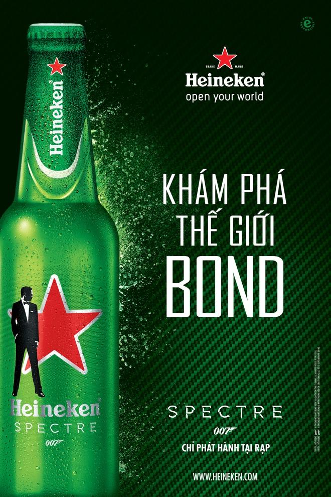 Dien vien 'Diep vien 007' James Bonds dong phim cua Heineken hinh anh 1