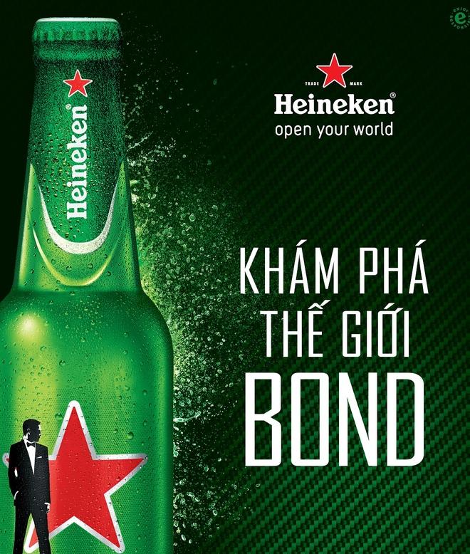 Dien vien 'Diep vien 007' James Bonds dong phim cua Heineken hinh anh